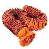 Moracle Tubo de Manguera de Ventilación PVC 32FT/10m Portátil Servicio Pesado Conducto de Ventilación de PVC Ventilador Flexible Conducto 10Inch 250mm