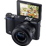 Samsung NX3300 Mirrorless Digital Camera with 20-50mm Lens - Black