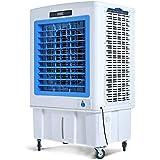 Qinmo Refrigeradores evaporativos móvil de aire acondicionado, refrigerador portable 100L planta industrial de gran tanque de agua de refrigeración de evaporación grande Tipo Durable Super Silent radi