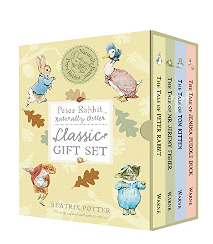 Compare Textbook Prices for Peter Rabbit Naturally Better Classic Gift Set Box Edition ISBN 8601300403717 by Potter, Beatrix