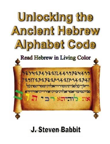 Unlocking the Ancient Hebrew Alphabet Code: Read Hebrew in Living Color