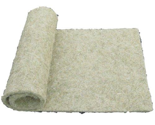 pemmiproducts Tapis pour rongeurs en Chanvre, 150 x 80 cm, épaisseur 10mm, Lot de 1. Tapis en Tant Que pour Les Lapins, cochons d'Inde, Hamsters, dègues, Rats et d'autres rongeurs.