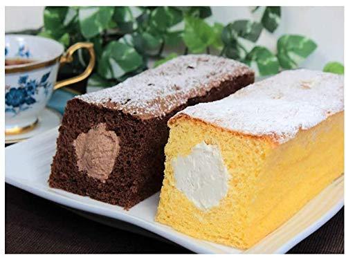 [市岡製菓] スイーツ 生パウンドケーキ セット 生パウンドケーキ和三盆×1本、生パウンドケーキチョコ×1本 /ハラール認証取得商品