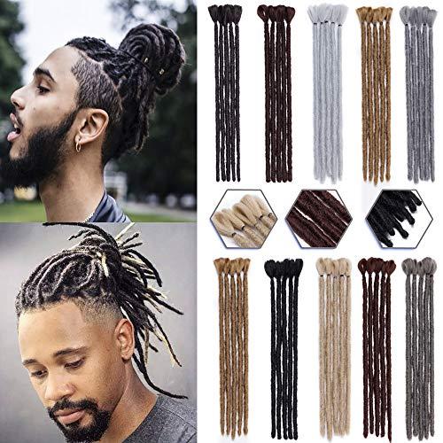 Handmade Dreadlocks Extensions 12 5pcs Soft Faux Locs Crochet Dreads Hairpieces For Men Reggae Hip Pop Dark Auburn Buy Online In Dominica At Dominica Desertcart Com Productid 145638311