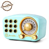 Retro Bluetooth Speaker, Vintage Radio-Greadio FM Radio with Old Fashioned Classic Style, Strong