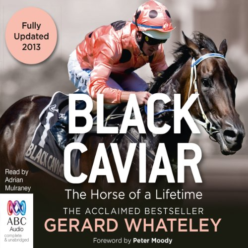 Black Caviar audiobook cover art