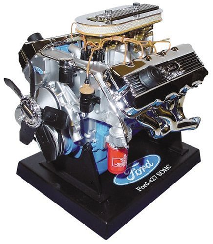 Liberty Classics 84025 Ford 427 SOHC Engine Replica, 1/6th Scale Die Cast,Multi