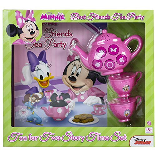 Disney Junior Minnie Mouse - Best Friends Tea Party: Tea for Two Story Time Set - PI Kids