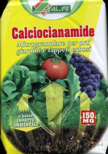 Calciumcyanamid IN FORM VON Granulat für Gemüsegärten, Rasenflächen, Packung zu 5 kg