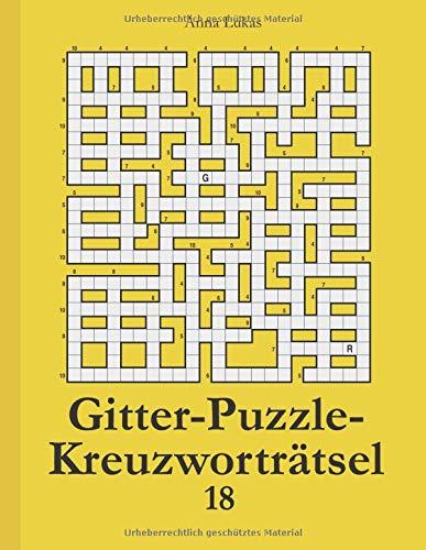 Gitter-Puzzle-Kreuzworträtsel 18