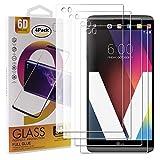 Guran 4 Pezzi Pellicola Protettiva in Vetro Temperato per LG V20 Smartphone 9H Durezza Anti-Impronte HD Alta Trasparenza Pellicola