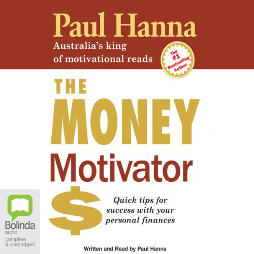 The Money Motivator audiobook cover art