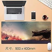 Vampsky 拡張大日本アニメゲーミングマウスパッドビッグ表マットプロフェッショナルEsportsも厚みの非スリップ耐水性デスクマット快適に感じるスリップロックノートパソコンのキーボードパッドレインボー90 * 40センチメートル (サイズ : Thickness: 3mm)