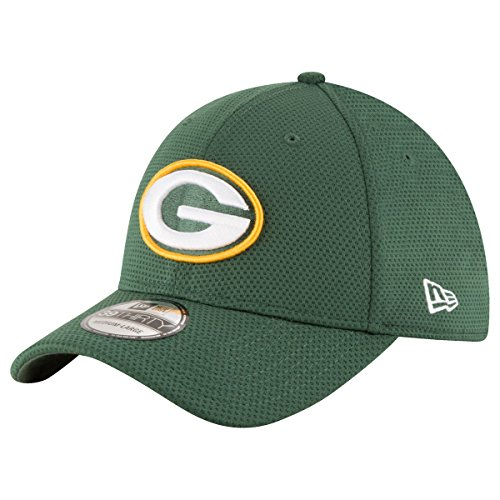 New Era Sideline Tech 39Thirty Grepac OTC Gorra Línea Bay Packers de...