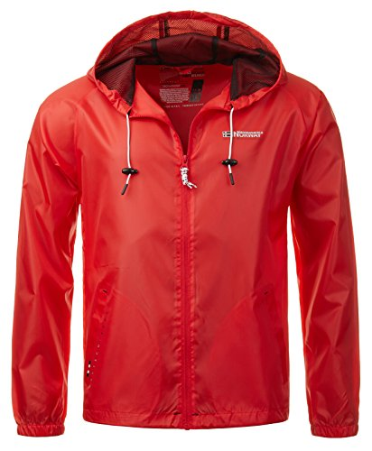 Geographical Norway Herren Regenjacke Boat Men 004 Red L