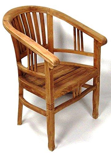 BEHO Natürlich gut in Holz ! Beho Natürlich gut in Holz 2 Gartensessel Betawi 60x60x84 cm Teakholz Selected Kernholz unbehandelt zusammengebaut