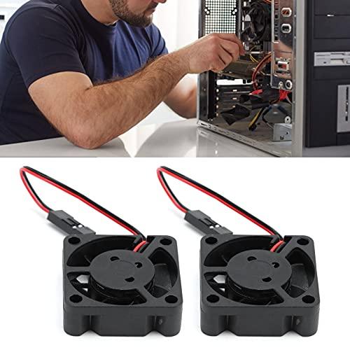 Gedourain Ventilador de refrigeración, Ventilador de refrigeración portátil de componentes electrónicos para Ventilador