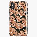 Crying Kim Kardashian Tv Show - Apocalypse Phone Case Glass, Glowing For All Iphone, Samsung Galaxy-miniot