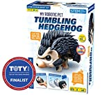 Thames & Kosmos My Robotic Pet - Tumbling Hedgehog | Build Your Own Sound Activated Tumbling, Rolling, Scurrying Pet Hedgehog | STEM Experiment Kit | Toy of The Year Award Finalist