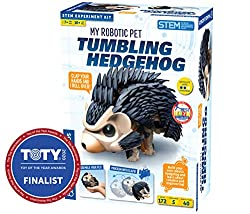 top 10 robotic pets Thames and Space My Robot Pet – Hedgehog Fall   Create your own acrobatic sound…