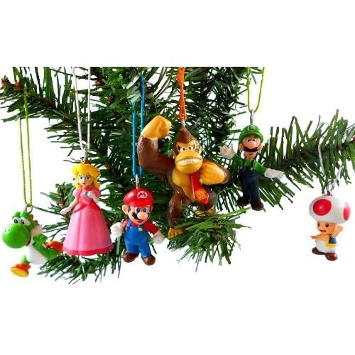Amazon.com: Super Mario Brothers Christmas Ornaments Figurines Pack of 6:  Toys & Games - Amazon.com: Super Mario Brothers Christmas Ornaments Figurines Pack