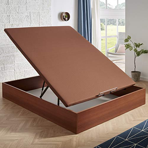 HOME Canapé abatible MagicBox Medida 135x200 cm Color Cerezo