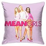 Mean - Fundas de almohada para niñas, fundas de cojín, fundas de almohada, sofá, cama, decoración del hogar, 45 x 45 cm