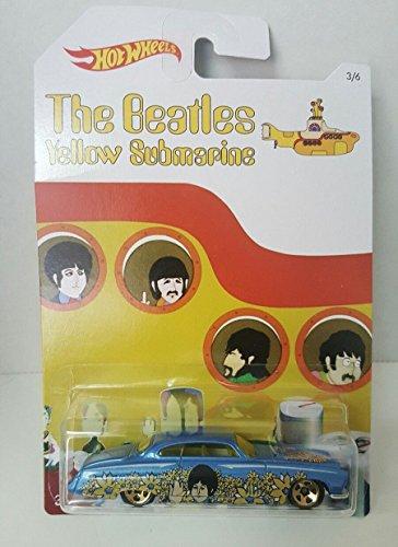 Hot wheels The Beatles Paul McCartney Fish D N Chip D car Yellow Submarine Rare New Jersey