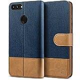 BEZ Handyhülle für Huawei P Smart Hülle, Tasche