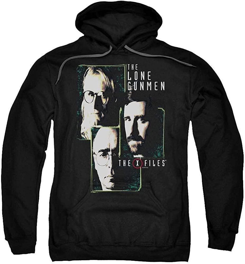 Sons Max 46% OFF of Gotham X Files Adult Hoodie Time sale Lone Gunmen Pull-Over