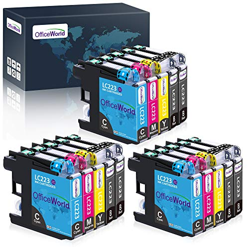 tinta de impresora office world lc223 online