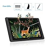 HUION Kamvas GT-221 Pro Tableta Grafica con Pantalla, Monitor de Dibujo Gráfico de Vidrio Antirreflejo HD de 21,5 Pulgadas,...