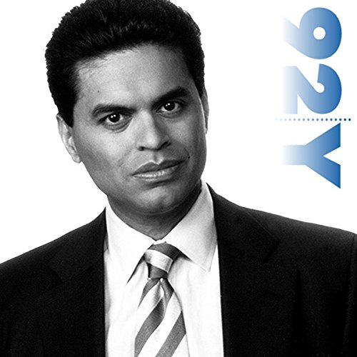 Fareed Zakaria at the 92nd Street Y audiobook cover art