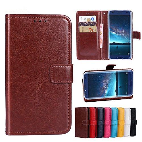 F&a® Flip Brieftasche Hülle für Leagoo Z7(Muster 8)