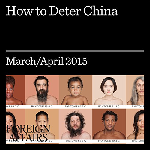 How to Deter China audiobook cover art