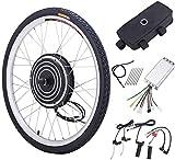 Z ZELUS 26'' Kit di Conversione Bici Elettrica Controllo Mozzo Motore Hub E-Bike Ruota Bicicletta Regolatore di velocità (Ruota Anteriore 36V 500W)