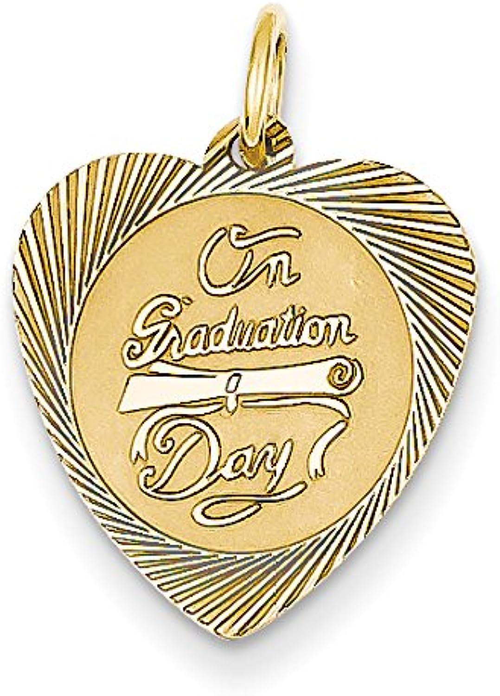 Diamond2Deal 14k Yellow gold On Graduation Day Pendant