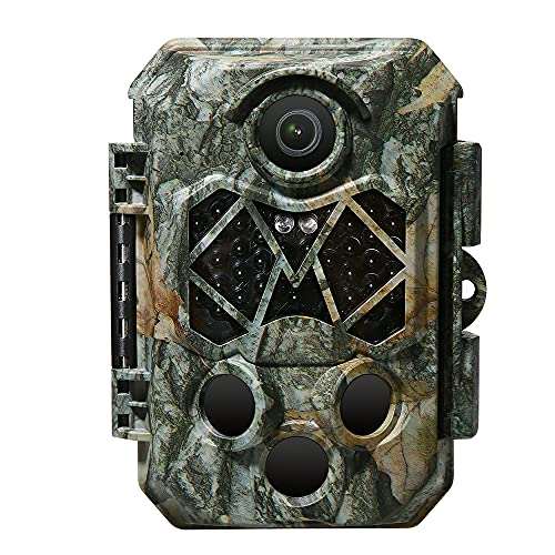 Wildkamera, 4K 32MP Wildkamera mit SD...