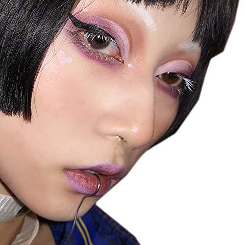 El Anillo De Labio Cetro Hecho De Material De Titanio Estándar Internacional Protege Su Piel Mientras Está A La Moda,Eres El Mas Singular