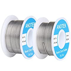 Tin Lead Rosin Core Solder:rosin core solder wire is designed for electrical repairs, such as radios, TVs, VCRs, stereos, wires, motors, circuit board and other electronics devices,gauge wires, toys, stained glass, jewelry and more; NOT for plumbing ...