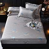Estera para Dormir de bambú carbonizada, casa de Verano Doble Europeo Luz de Lujo Jacquard Cama Libingsi Soft Mat (15 Modelos) Colchón Fresco (Color: E, Tamaño: 1.5x2m)