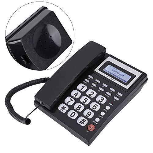 Weikeya Kabelgebunden Telefon mit Lautsprecher, Eingehend Kabelgebunden Telefon Hafen Entwurf Abs Kabelgebunden Telefon Mit Lautsprecher zum Ihre Auswahl