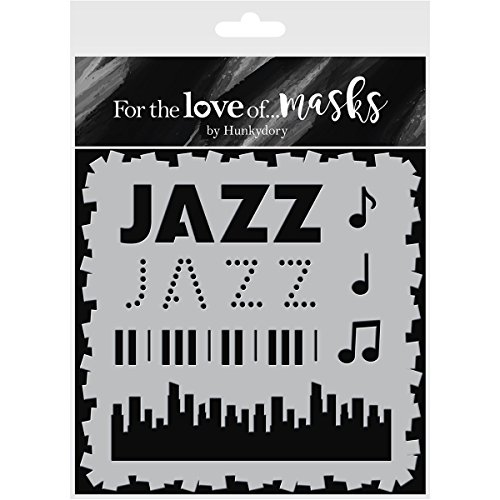 HunkyDory Crafts FTLM121 for The Love of Masks 5.5'X5.5'-All That Jazz