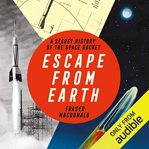 Escape from Earth audiobook cover art