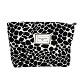 UERRUAM Small Makeup Bag Organizer Purse Cute Cosmetic Zipper Pouch for Women Traveling (dot)