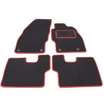 Black Nylon Carpet Coverking Custom Fit Front and Rear Floor Mats for Select Chevrolet Aveo Models CFMBX1CH8415