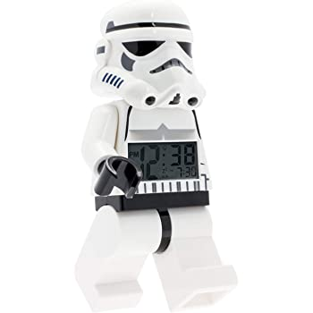 LEGO LEGO Star Wars Stormtrooper minifigure alarm clock (Model: 9002137)