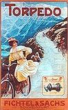 Fichtel & Sachs Retro Poster Werbeplakat – Torpedo