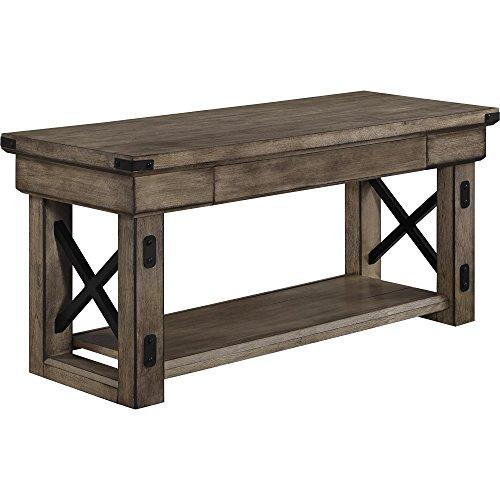 Ameriwood Home Wildwood Veneer Entryway Bench -$191.66(54% Off)