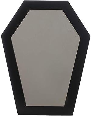Sourpuss Coffin Mirror Black